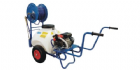 70 Litre Wheeled Sprayer c/w 25mtr Hose Reel